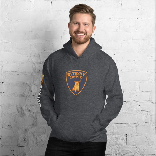 unisex heavy blend hoodie dark heather front 605a166a2545a Bitboy Crypto 2021 Bull Run BitSquad Hoodie