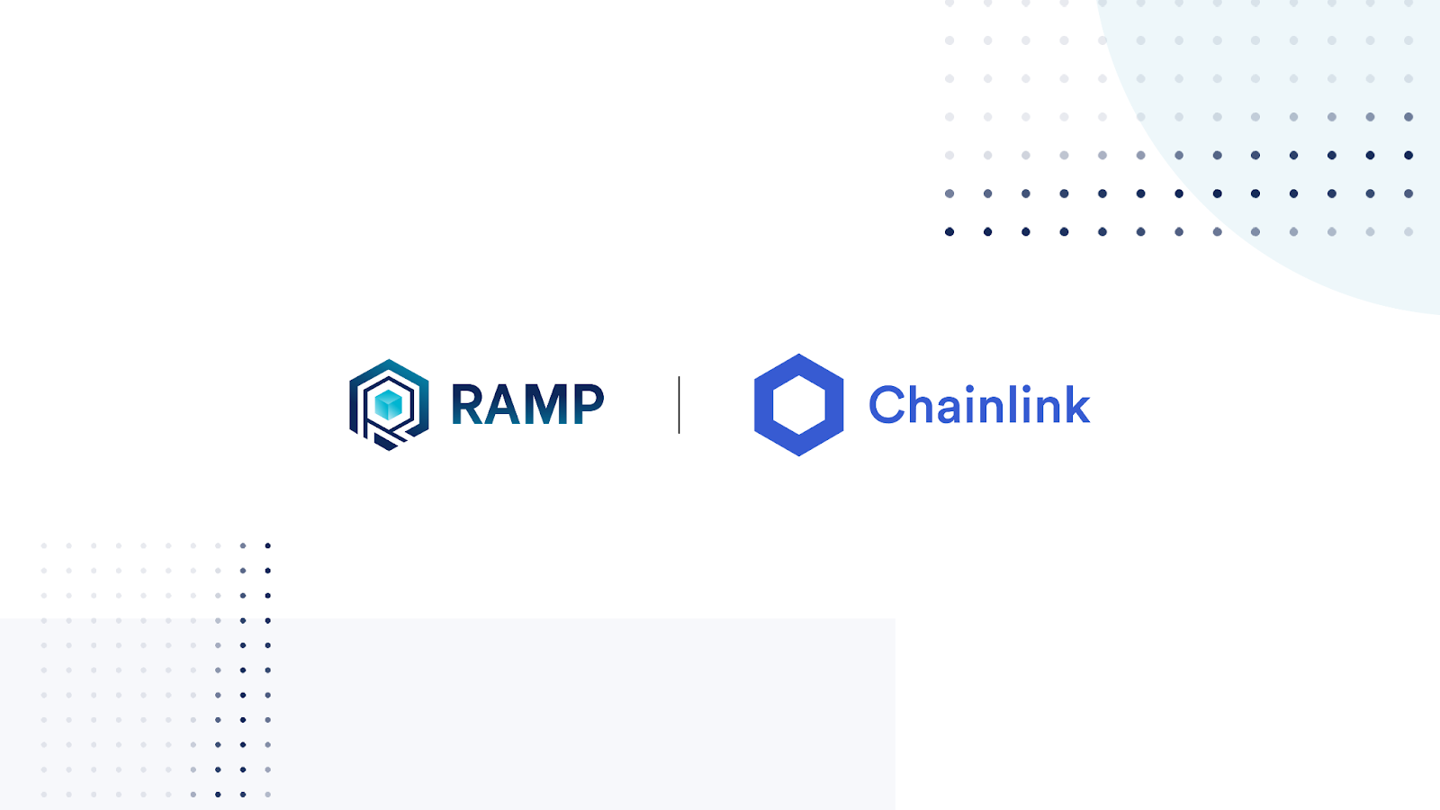 Chainlink Adds RAMP/USD Price Oracle and Secures RAMP's Multi-Chain Staked Liquidity Platform