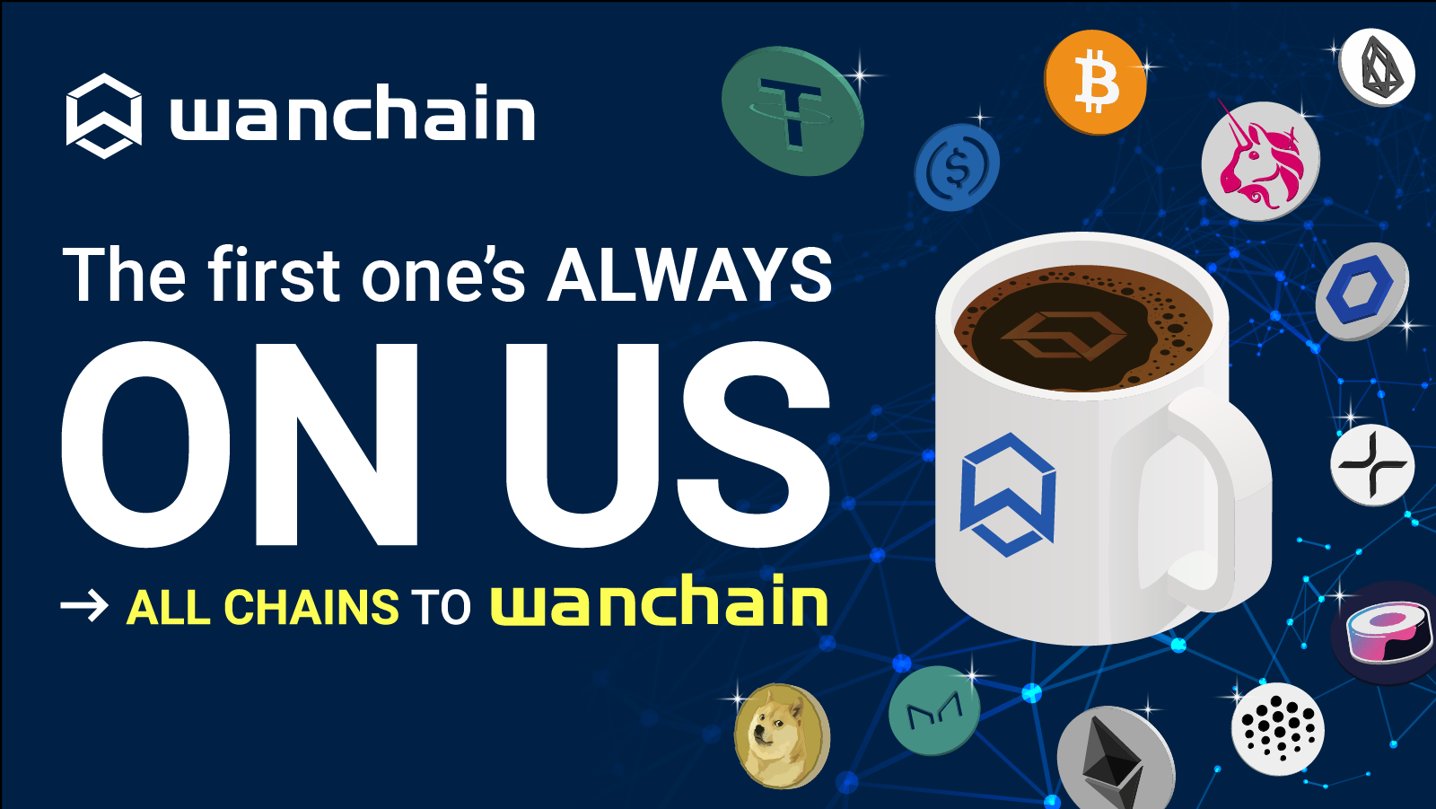 Wanchaindefiz Interoperable DeFi made easy: $WAN cross-chain faucet now supports all tokens!