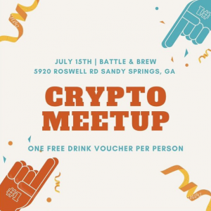 meetupbitboycrypto Bitsquad Meet Up In Georgia At Battle And Brew On July 15th At 7 - 10 P.M.
