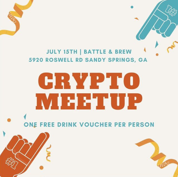 Bitsquad Meet Up In Georgia At Battle And Brew On July 15th At 7 – 10 P.M.