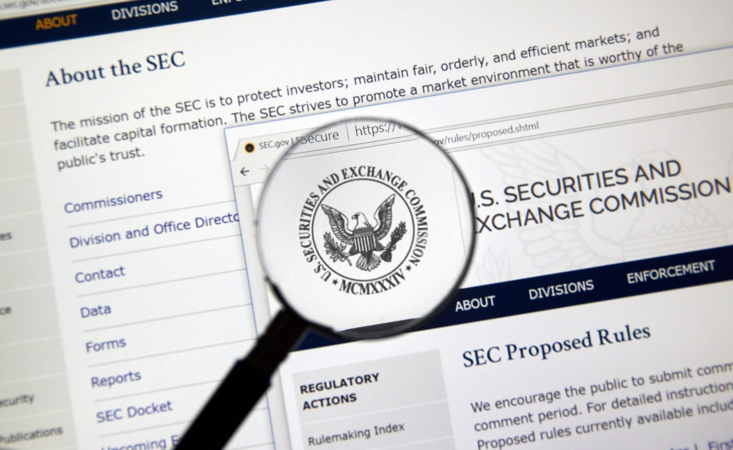 AdobeStock 294550284 Editorial Use Only1 scaled Regulation: SEC Chair Gary Gensler Attacks Coinbase Says Very Few Cryptos Aren't Securities