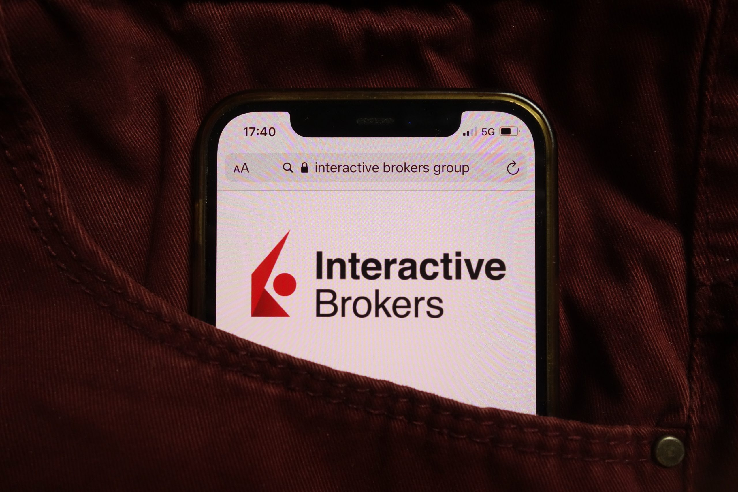 AdobeStock 456539846 Editorial Use Only scaled Interactive Brokers Group Launches Crypto Trading For U.S. Registered Investment Advisors