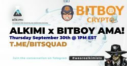 AlkimiBitsquad Bitsquad AMA: Alkimi Is Revolutionizing The Ads Exchange Industry With Constellation's Hypergraph